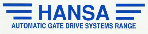 Hansa Gate Automation & Gate Motors